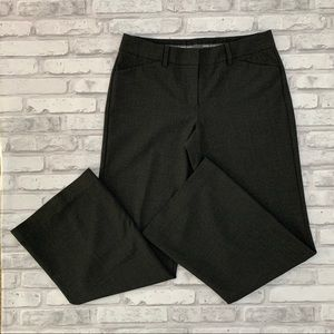 Express Editor Pants Size 4S Charcoal